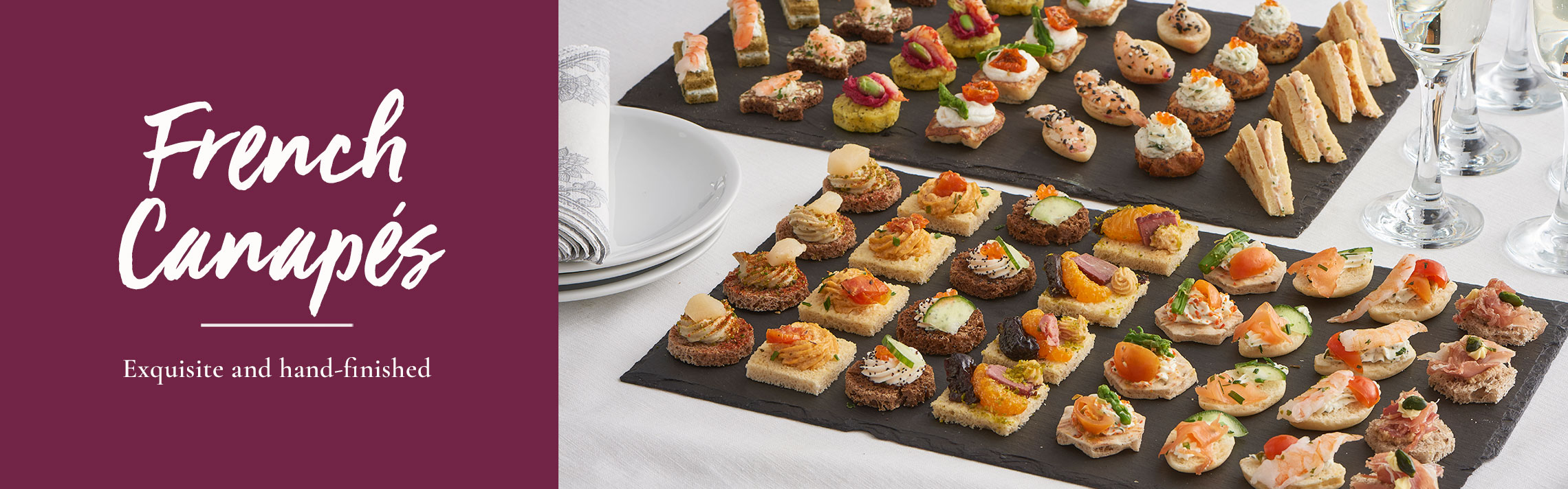 Canapes - Tipiak Foodservice - Canapes, Macarons, Sweet Patisserie