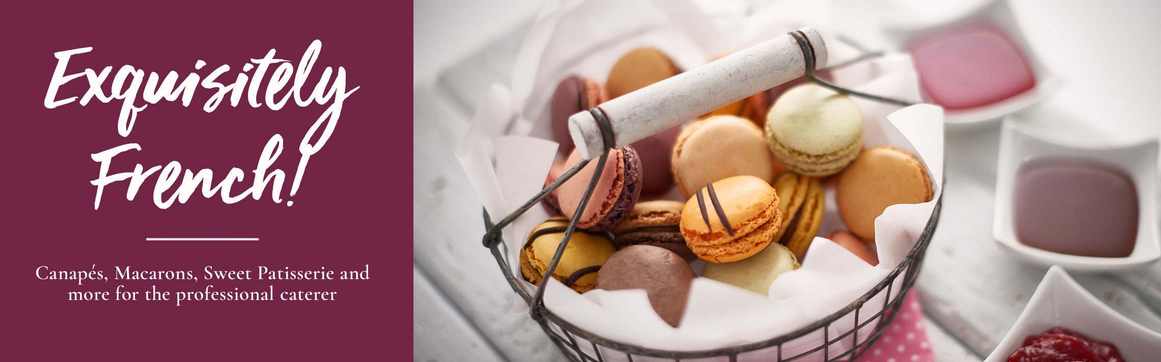Canapes Supplier - Tipiak Foodservice - Canapes, Macarons, Sweet Patisserie