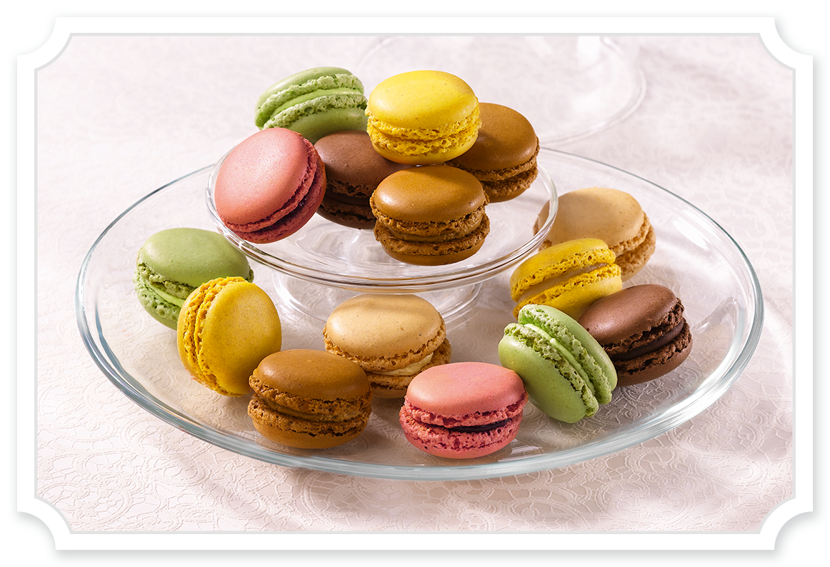Macarons Supplier - Tipiak Foodservice - Canapes, Macarons, Sweet Patisserie