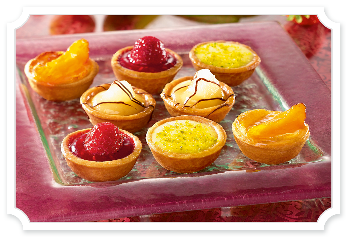 Petit Fours - Tipiak Foodservice - Canapes, Macarons, Sweet Patisserie
