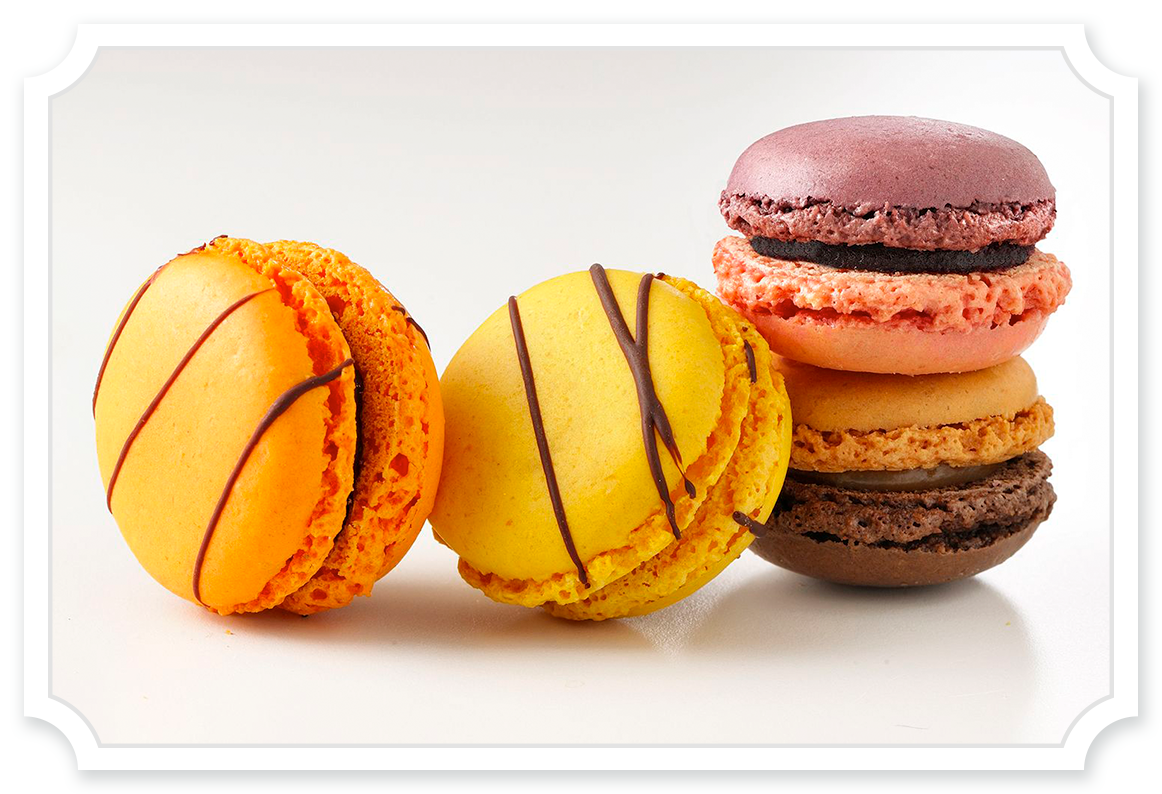 Macarons - Tipiak Foodservice - Canapes, Macarons, Sweet Patisserie