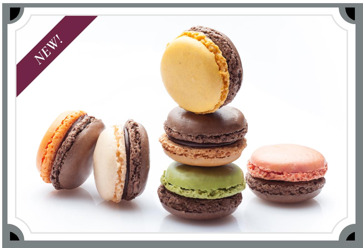 Chocolate Macarons Collection