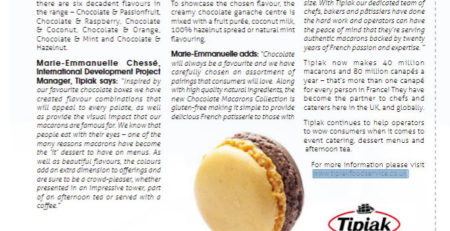 Macarons Supplier - Tipiak Foodservice - Restaurant Update - Tipiak Expands Macarons Selection